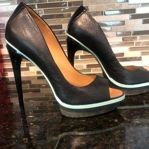 L.A.M.B Platform Heels